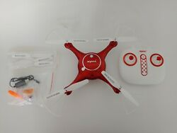 Syma Camera Drone Headless Helicopter Quadcopter Toys Red with Camera $27.99