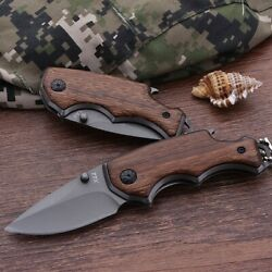 Camping Knives Keychain Mini Pocket Folding Hunting Tactical Knives outdoor Tool $9.89