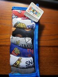 7 Pairs Kids Boys Novelty Design Day of the Week Socks size 7 3 New $4.91
