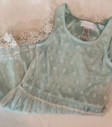 Guess Girls Dress Size 8 Lace Teal $6.00