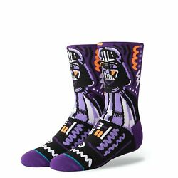 STANCE STAR WARS LORD DARTH VADER SOCKS LARGE YOUTH 2 6 KIDS BRAND NW BOYS GIRLS $8.89