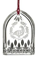 NEW Waterford 12 DAYS OF CHRISTMAS 6 Geese a Laying LISMORE ORNAMENT # 40008731 $69.99