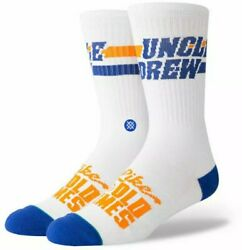 New Stance Socks Uncle Drew quot;Like Old Timesquot; Kyrie Irving L 9 12 $12.99