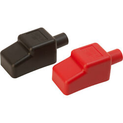 Sea Dog Battery Terminal Covers Red Back 1 2quot; $16.87