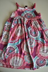 Tea Colletion Girls Dress size 6 Sundress Geometric $9.98