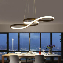Acrylic Modern LED Ceiling Light Lamp Pendant Dining Room Fixture Dimmable $76.15