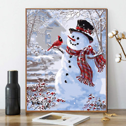 DIY Paint by Numbers for Adults Kids Paint by Numbers Christmas DIY Painting $17.88