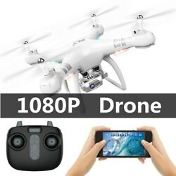 1600mAh Adjustable Remote Control Drones Large Quadcopter FPV HD Camera Drone $49.28