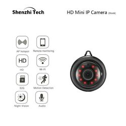 HD Mini Cameras Security For Spy Homes Wifi Wireless With Audio Night Vision $29.99