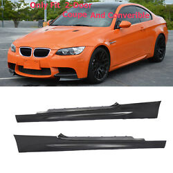 M3 Style Side Skirt For BMW 3 Series E92 E93 2007 2013 Coupe Convertible $167.20