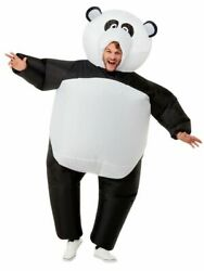 Inflatable Giant Panda Costume Novelty Adults Stag Hen Do Fancy Dress Outfit $76.93