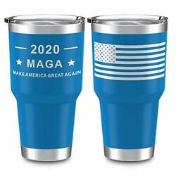 Trump Make America Great Again Outdoor Tumbler Double Wall Stainless Steel Ins $14.46