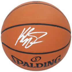 Klay Thompson Golden State Warriors Signed Spalding NBA Official Game Basketball AU $599.00