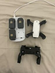 DJI Spark Quadcopter and Controller Combo CP.PT.00000104.01 $400.00
