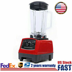 2L 1500W Blender Countertop Mixer Smoothie Maker Commercial For Juice Fruit Ice
