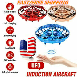 360° Mini Drone Smart UFO Aircraft for Kids Flying Toy RC Hand Control Xmas US $17.29