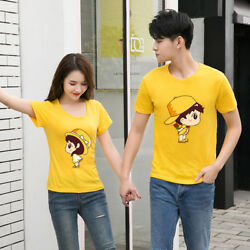 Women men summer tops Leisure Outdoor couple love T shirt New marriage proposal $14.98