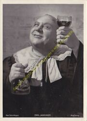 Original Photo Emil Jannings Foto Tobis Magna $9.51