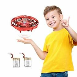 Flying Toys Drones for Kids Mini Drones with 2 Batteries Hand Controlled $29.40