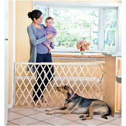 Evenflo Expansion Swing Extra Wide Hardware Mount Gate 24quot; 60quot; Natural $47.34