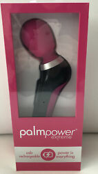 palm power extreme massager relax muscles usb rechargeable pink curve powerful $109.20