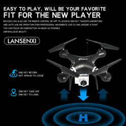 Hot Remote Control Drones Large Quadcopter FPV Helicopter HD Camera Drone Flying $51.89