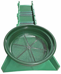 36quot; Sluice Box for Gold Mining with Stacking #20 Classifier Green $89.00