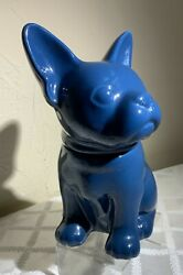 French Bull dog container. Threshold Dark blue. 10.5quot; x 6quot; x 7quot; $37.00