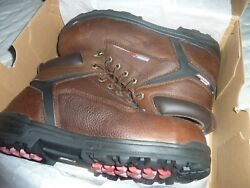 DICKIES SIZE 12 MENS WORK BOOTS BRAND NEW STEEL TOED WEATHER PROOF $32.50