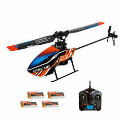 4 Batteries Eachine E119 2.4G 4CH 6 Axis Gyro Flybarless RC Helicopter RTF $69.99