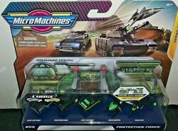 MICRO MACHINES 2020 PROTECTION FORCE VIPERCHOPPERHOVERCRAFT amp; MORE SERIES 2 $19.99