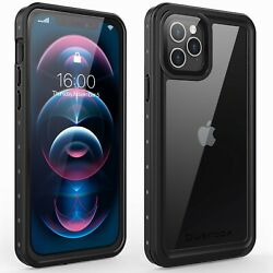 For Apple iPhone 12 Case Waterproof Shockproof with Screen Protector 12 Pro Max $16.99