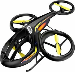 RC Helicopter Remote Control Drone with Gyro and LED Light 4HZ Channel plastic $107.23