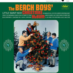 The Beach Boys CHRISTMAS ALBUM 12 Holiday Songs MUSIC New Sealed Vinyl Record LP $24.99