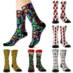 Among Us Novelty Socks Women Trainer Casual Stockings Winter Warmer * $7.69