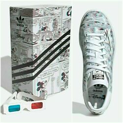 ADIDAS STAN SMITH DISNEY MICKEY MOUSE 3D MEN#x27;S CASUAL SHOES CLASSIC SNEAKERS $99.99