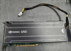 DELL NVIDIA GRID K2 GPU ACCELERATOR 8GB GRAPHICS PROCESSING UNIT GPGPU KVJ6K $125.00