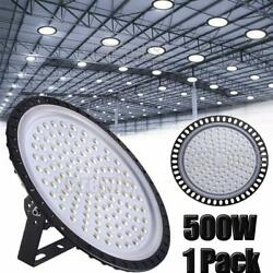 500W UFO LED High Bay Light Shop Lights Fixture Factory Commercial Lighting Watt
