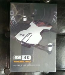 Wingsland S6 RC Quadcopter FPV Selfie Drone 4K HD Camera Orange NEW $133.00