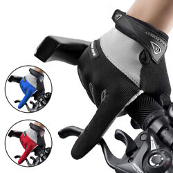 Men Sports Cycling MTB Road Gloves Full Finger Touch Screen Gloves Anti slip US $11.89