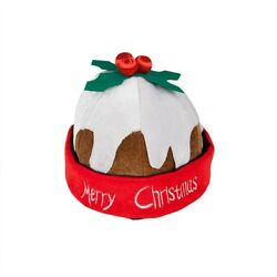Christmas Pudding Hat Novelty Adults Party Fancy Dress Accessory $19.10