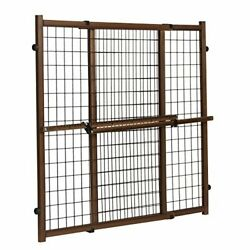 Evenflo Position amp; Lock Tall amp; Wide Baby Gate Pressure Mounted Farmhouse $33.42