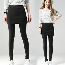 Womens Sexy High Waist Slim Leggings Pants Skinny Pencil Trousers With Skirt $16.88