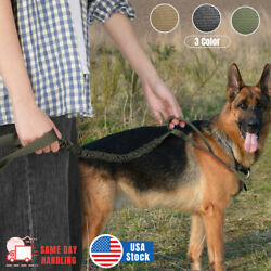 Retractable Nylon Rope Dog Leash Tactical K9 for Large Dog Heavy Duty Coupler US $11.99