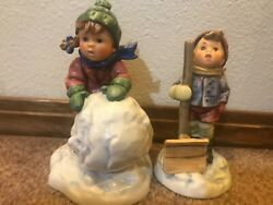 Hummel First Snow and Let It Snow set #2035 and 2036 MIB $169.95