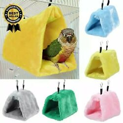 Pet Bird Warm Hammock Tent Cage Hut Bed Hanging Toy For Parakeet Parrot Budgie $8.95
