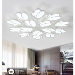 Acrylic Ceiling Light Modern LED Tulip Shade Chandeliers Home Lights Fixtures $133.00