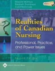 Realities Of Canadian Nursing: Professional Practice And Power Issues $11.89