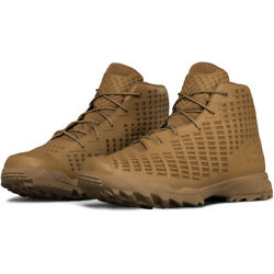 Under armour 1299241 Men#x27;s Acquisition Military Tactical Boots Coyote Size 13 $49.95