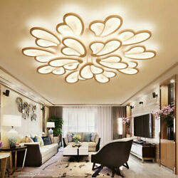 LED Acrylic Chandeliers Ceiling Lights Butterfly Modern Living Room Bedroom Lamp $157.00
